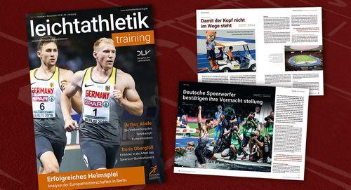 DLV-Trainerzeitschrift leichtathletiktraining relauncht