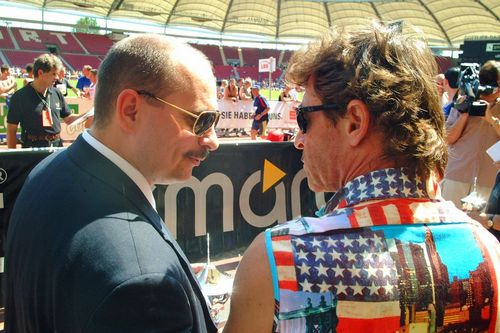 WLV-Präsident Jürgen Scholz wird Sechzig  (Fotos: Albert Arning, Markus Bechert, Adrian Stehle)