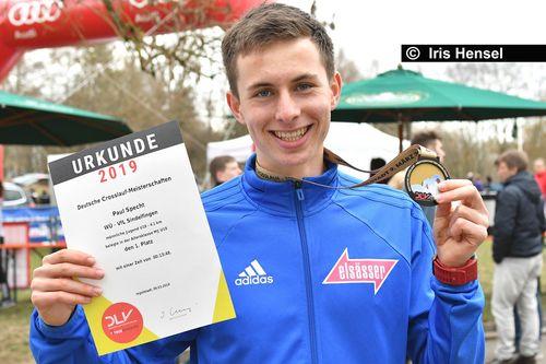 Paul Specht läuft U20-Rekord